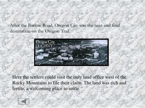 how to get rich on the oregon trail ppt the oregon trail powerpoint presentation id 1280211