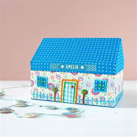 personalised dolls house personalised dolls house jewellery box sale by the little