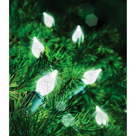 94781 holiday time led teardrop c4 lights time 60 count c4 teardrop led lights clear walmart
