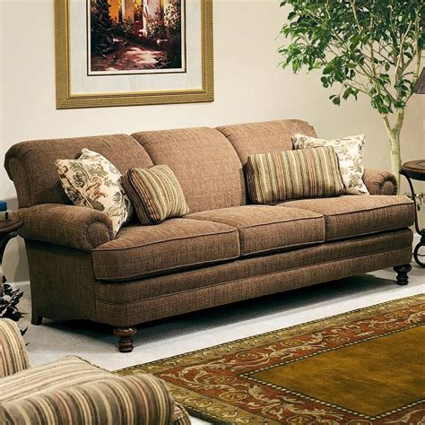 smith brothers couch 346 upholstered stationary sofa by smith brothers