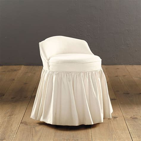 Upholstered Vanity Chairs For Bathroom Upholstered Swivel Stool Bhb Ballard Designs