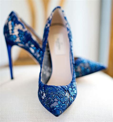 Navy Blue Bridal Heels by 25 Best Ideas About Blue Bridal Shoes On