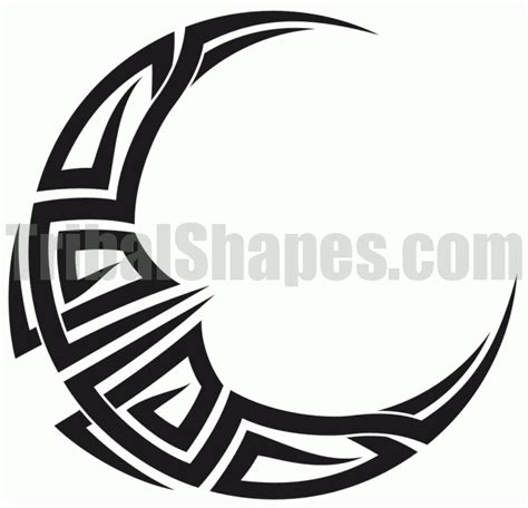 moon tribal tattoo 43 tribal moon tattoos