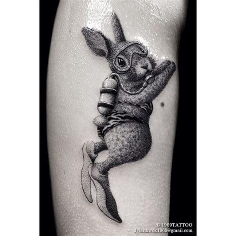 diving bunny tattoo best tattoo ideas gallery