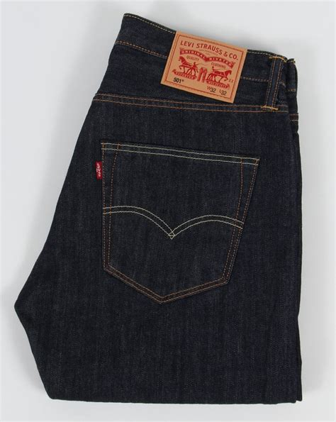 New Levis 501 Original levis 501 original rigid wash marlon fit denim