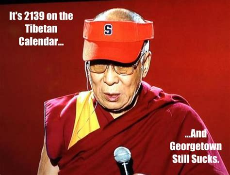 Syracuse Meme - introducing the cuse dalai lama meme troy nunes is an