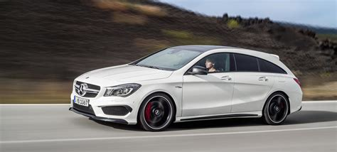 mercedes wagen yes yes yes the mercedes cla45 amg wagon is here