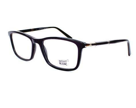 lunettes de vue mont blanc mb540 001 58 visionet