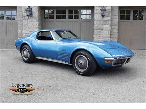 vintage corvette stingray 1970 to 1972 chevrolet corvette stingray for sale on