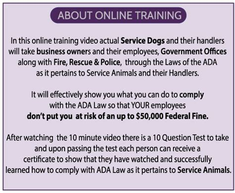 ada service laws ada for service animals for businesses