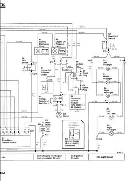 deere 318 ignition switch wiring diagram free