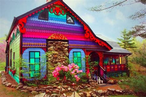 colorful houses painting this house is so beautiful wait till you see whats inside