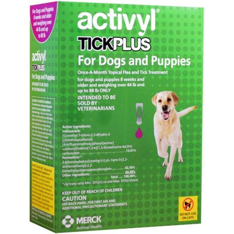 activyl tick plus for dogs activyl plus for dogs veterinary company