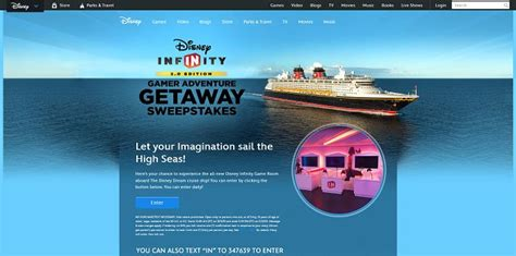 Disney Infinity Sweepstakes - disney com disneyinfinitysweeps disney infinity 3 0 gamer adventure getaway