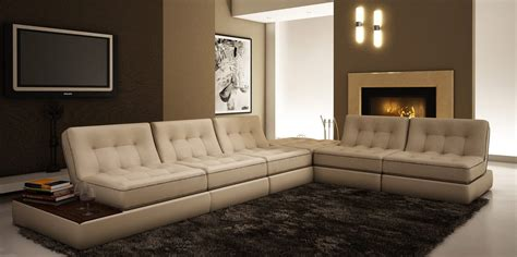 modern sofas leather 5055 modern leather sectional sofa