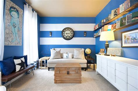 striped rooms 15 fabulous living rooms with striped accent walls