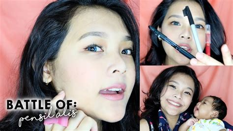 Review Pensil Alis Fanbo battle 3 pensil alis favorit wardah fanbo the browgal