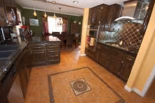 Kitchen Flooring Design by Huh Designs