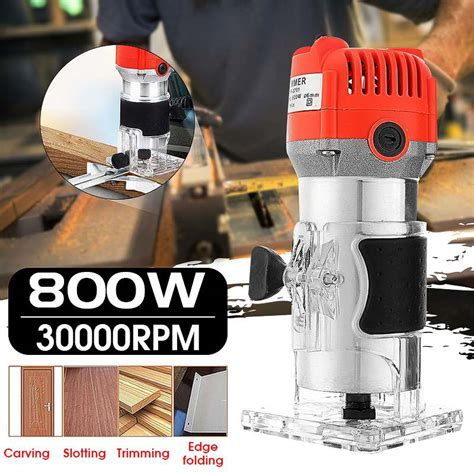 rpm electric hand trimmer wood router