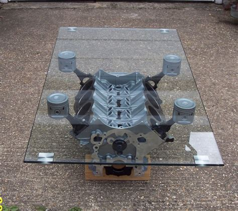 Engine Block Coffee Table Engine Block Coffee Table Items For The Road Ahead