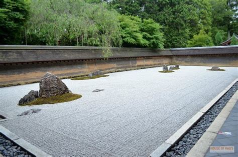 Rock Garden Ryoanji Temple Kyoto Picture Of Ryoanji Rock Garden Kyoto