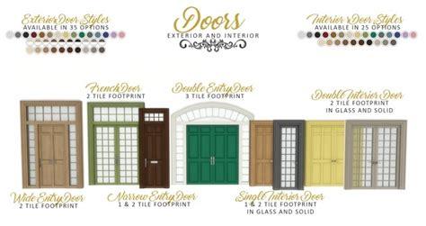 graciously georgian build set  simsational designs