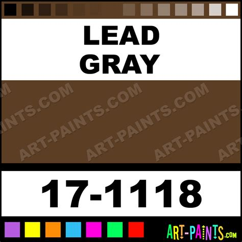 what color is lead lead gray universe paintmarker paints and marking
