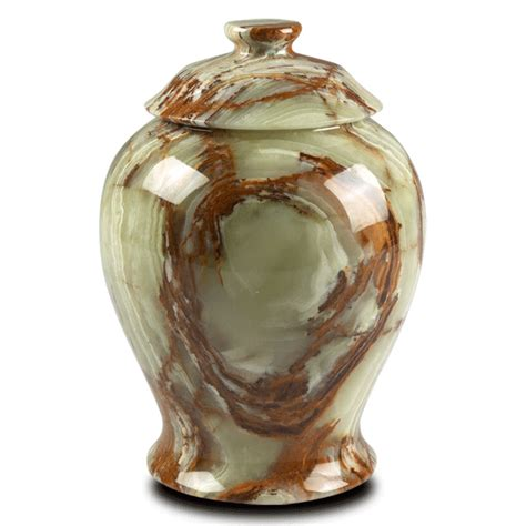 Green Onyx Vase by Object Moved