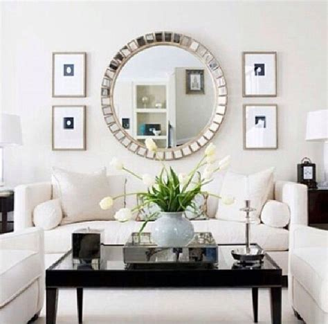black living room mirror best 25 mirror ideas on