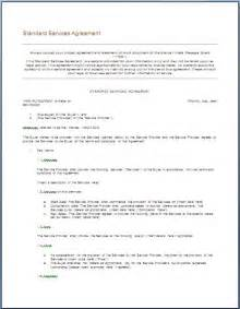 Free Service Agreement Contract Template by It Service Agreement Template Printable Templates