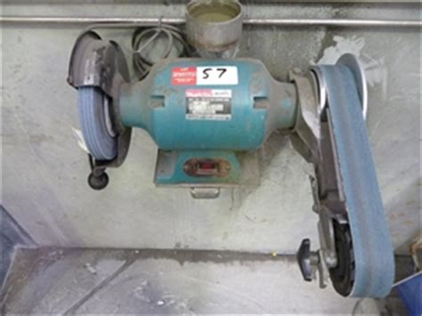 bench grinder makita makita gb800 8 inch bench grinder auction 0057 7002176