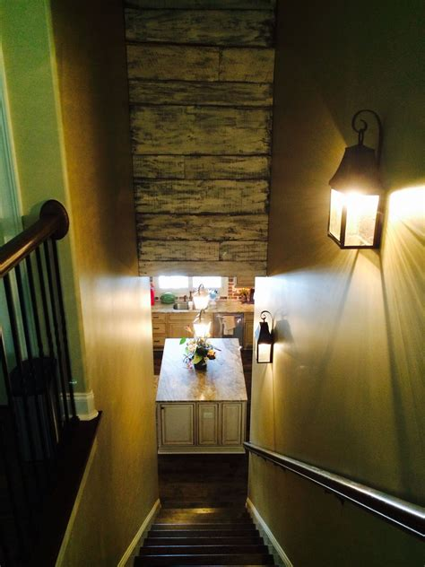 barnwood   wasted space   stairs