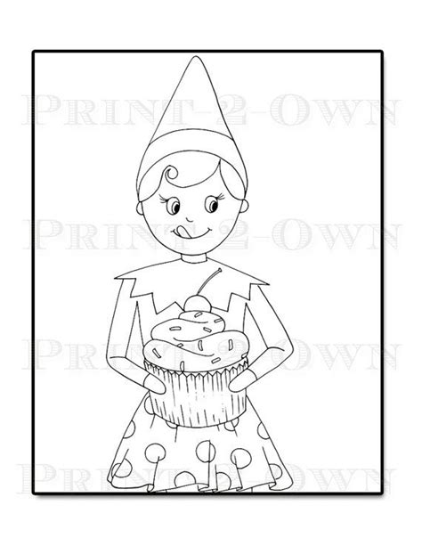 elf on the shelf snowflake coloring pages elf on a shelf coloring pages