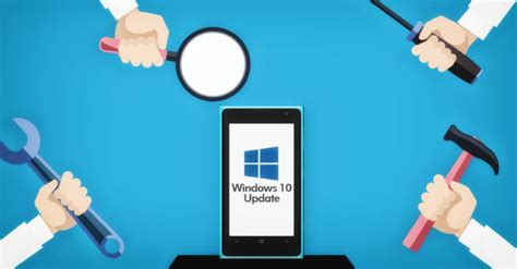 install mobile microsoft accidentally rolling out windows 10 mobile 14998