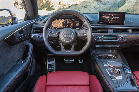 audi dashboard 2018 audi s4 and s5 drive review s is for quot smoove