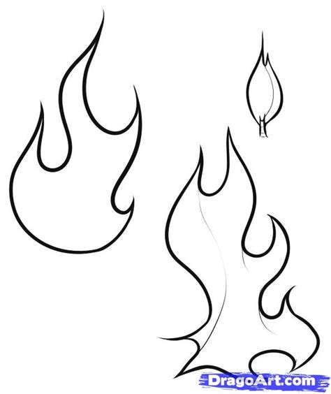 Coloring Pages Of Flames coloring pages flames