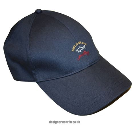 paul shark navy baseball cap hats from designerwear2u uk