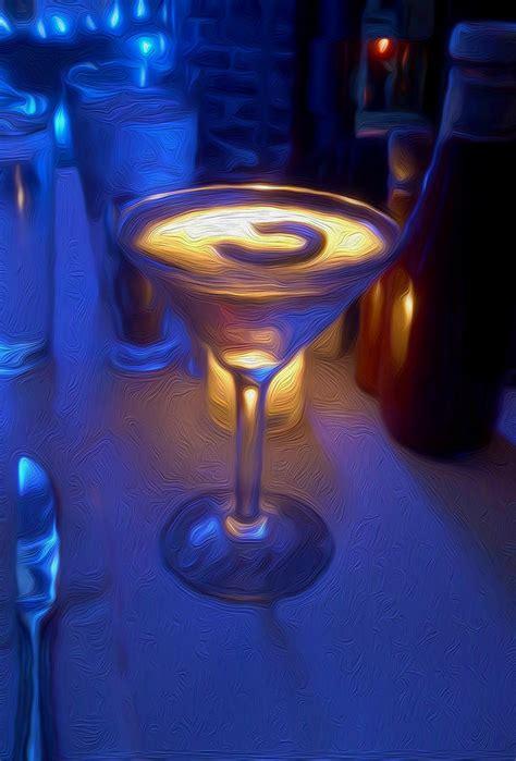 martini painting martini painting painting by tom kostro