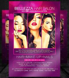free hair salon flyer templates makeup flyer templates free makeup vidalondon