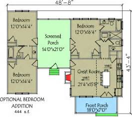 dogtrot house floor plan 3 bedroom trot house plan 92318mx architectural