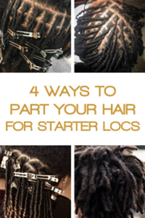how to section hair for dreadlocks how to part your hair for starter locs curlynugrowth
