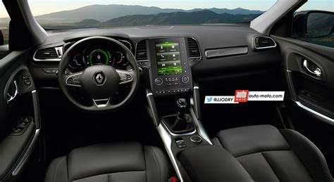 renault koleos 2016 interior renault maxthon interior rendering indian autos blog