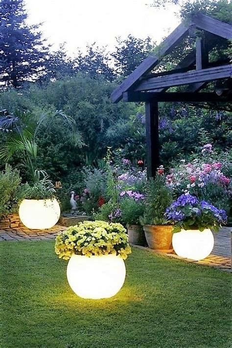 simple outdoor lighting ideas diy garden decorating project ideas dearlinks