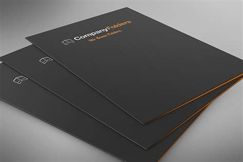30 Outstanding Mockup Templates For Folder Designs Download Designer Mag A4 Folder Template Psd