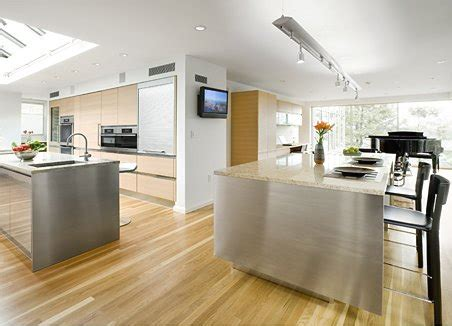 beautiful design  big kitchen  natural colors digsdigs