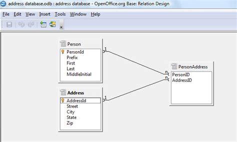 layout open office base first openoffice database part 2 custom designed databases
