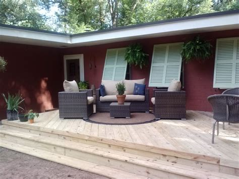 changing the layout of your house how adding a deck to the front of your macon ga home can