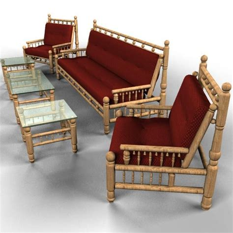Traditional Wooden Sofa Set Designs Wooden Sofa Set Smalltowndjs Com