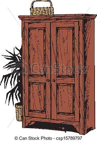 Simple Kitchen Cabinet Plans eps vectors of wooden cabinet wooden cabinet csp15789797