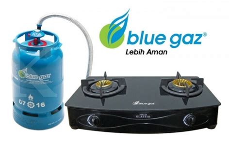 Kompor Blue Gaz tigaraksa satria incar 3 4 titik pengembangan e retail per